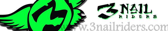 3 Nail Riders logo
