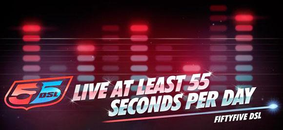55DSL logo