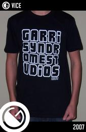 Garrisyndrome 2007 shirt