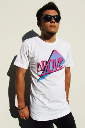 Above Apparel tee