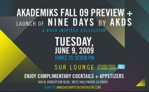 Akademiks/Nine Days Collection Preview Party