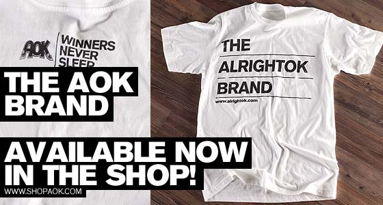 "ALRIGHTOK ""branded"" tee"