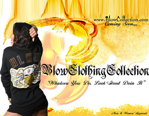 Blow Clothing Collection Banner