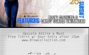 Blow Clothing Spring Fashion Walk Show