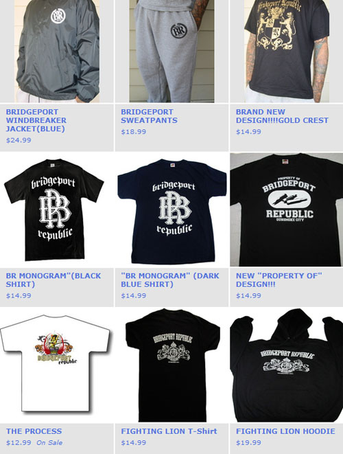 Bridgeport Republic Apparel