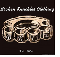Broken Knuckles Clothing logo
