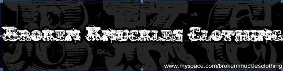 Broken Knuckles Clothing banner