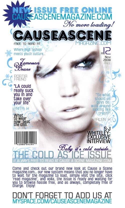 Cause A Scene Magazine