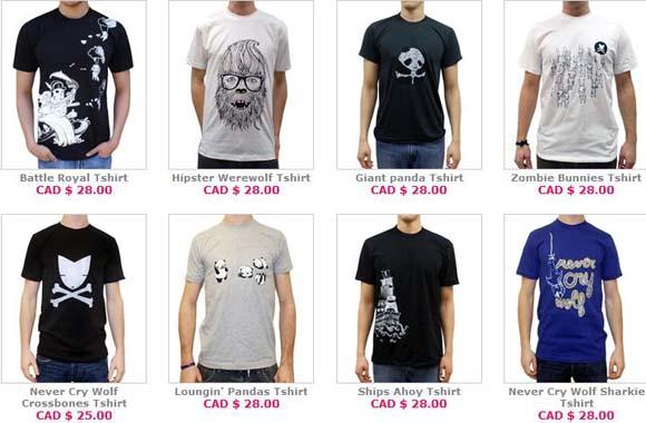 Crywolf men's clothing