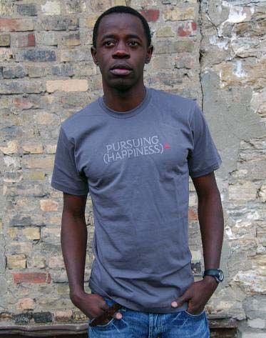 """Cultural Cotton """"Pursuing Happiness"""" tee"""