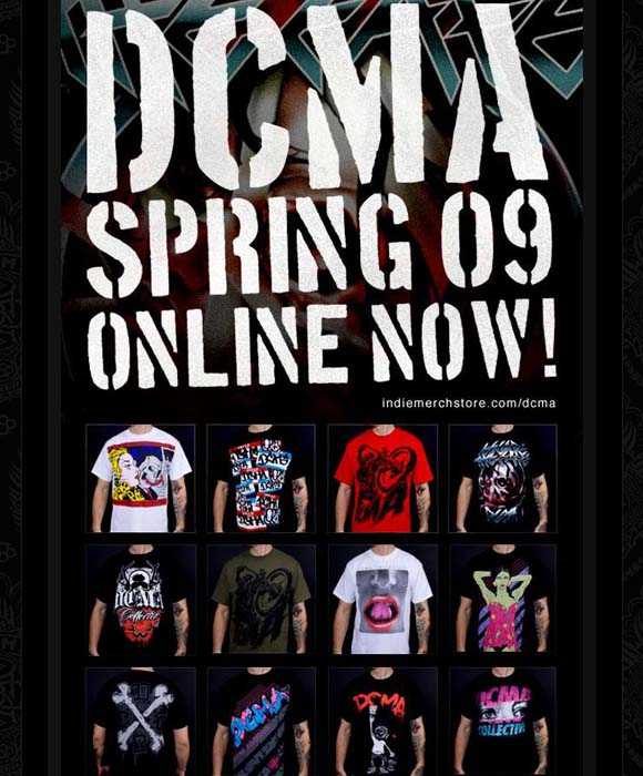 DCMA Spring '09 Line Now Available