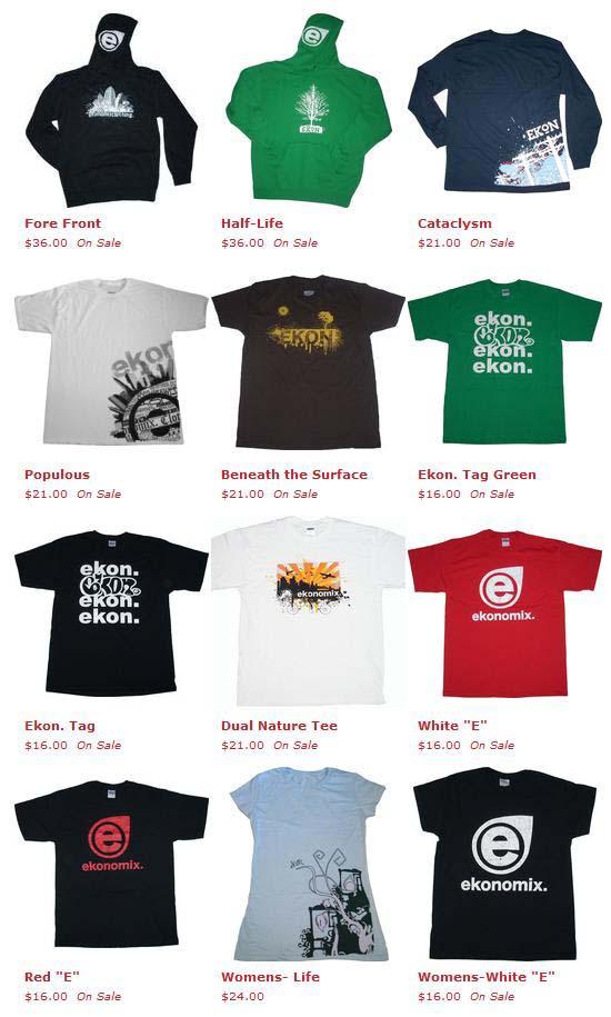 Ekonomix clothing line sheet