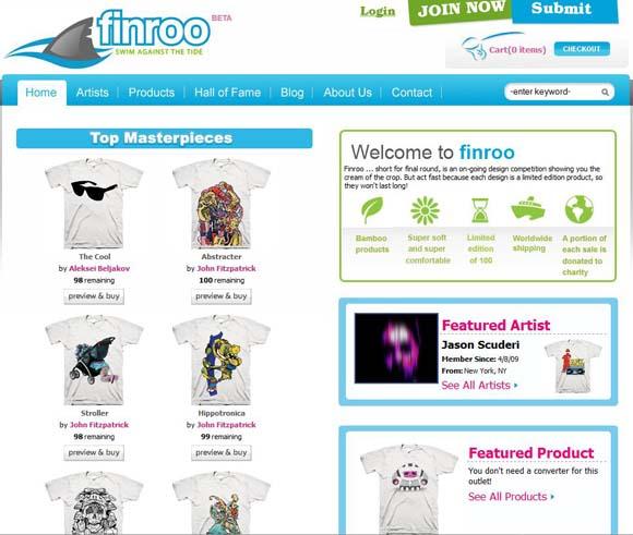 Finroo website screenshot