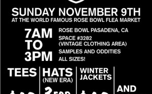 Freshjive Sample Sale Sunday, November 9th