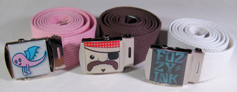 Fuzzy Ink Belts