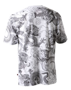 GMtee shirt back