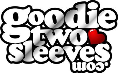 Goodie Two Sleeves logo
