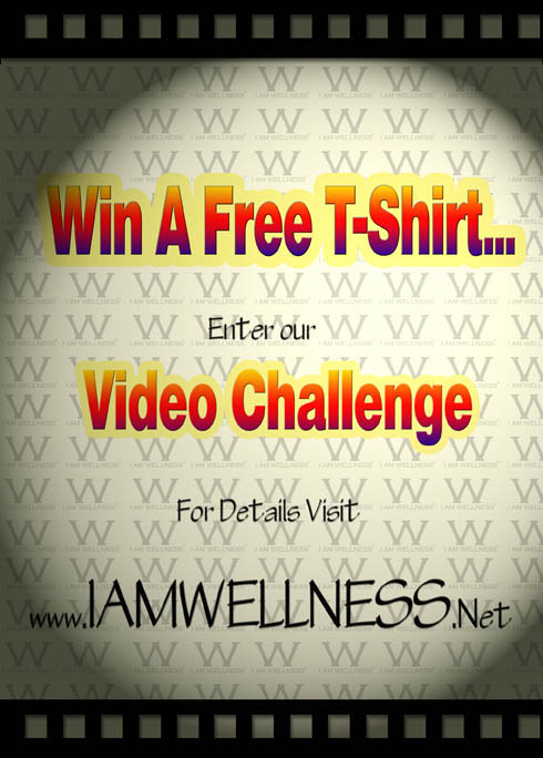 I AM WELLNESS Video Challenge flyer