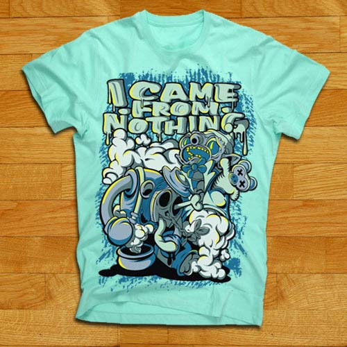 "I Came From Nothing ""Genie"" tee"