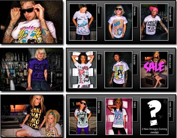 Kill the Label clothing line sheet