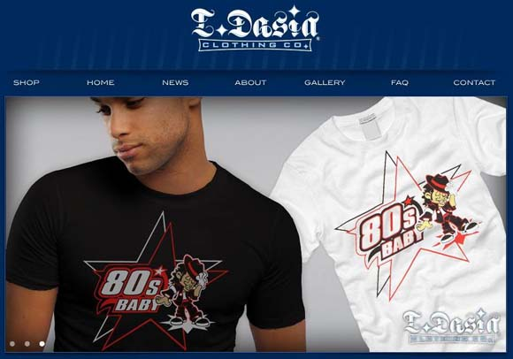 L.Dasia Clothing Co. Website Update screenshot