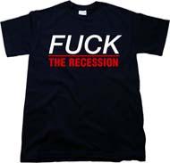 Lush T Shirts: Recession Tees