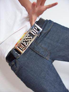 Messup Clothing belt