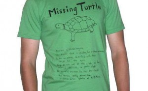 Mediocore Clothing $12 Missing Turtle Tee