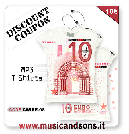 Music and Sons discount flyer