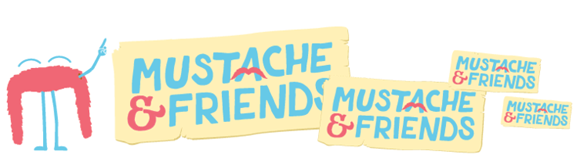 Mustache & Friends logo