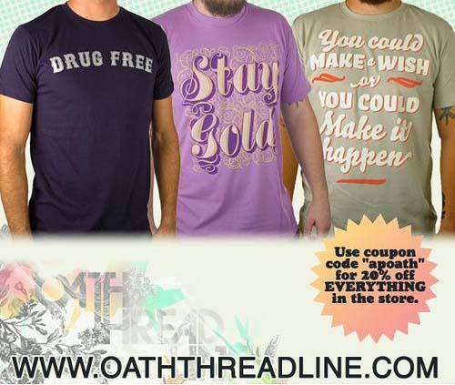 Oath Threadline sale flyer
