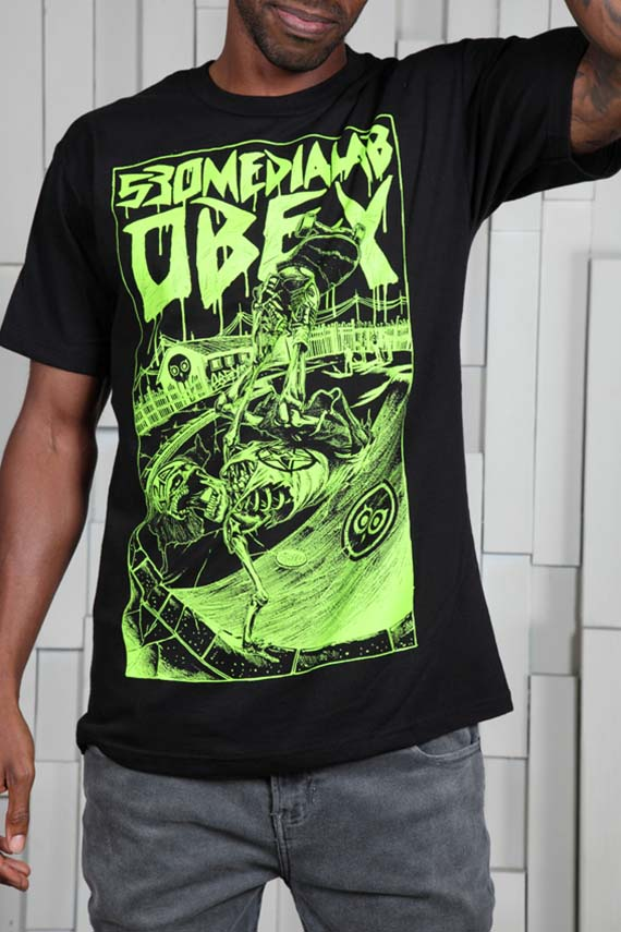 OBEY + 530Medialab Limited Edition 80's Skate Scene Tee