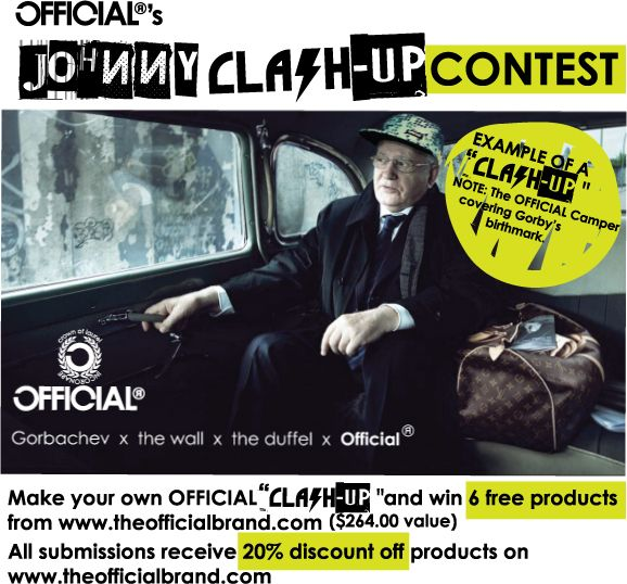 Official's Johnny Clash-Up Design Contest