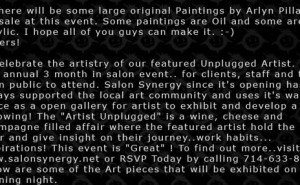 Arlyn Pillay (Ogre Shop) Gallery Show