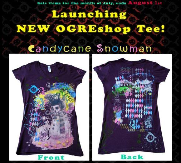 Ogre Shop New Tee + July Sale