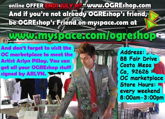 Ogre Shop sale flyer