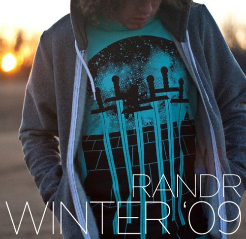 RANDR TEES WINTER SERIES 2009