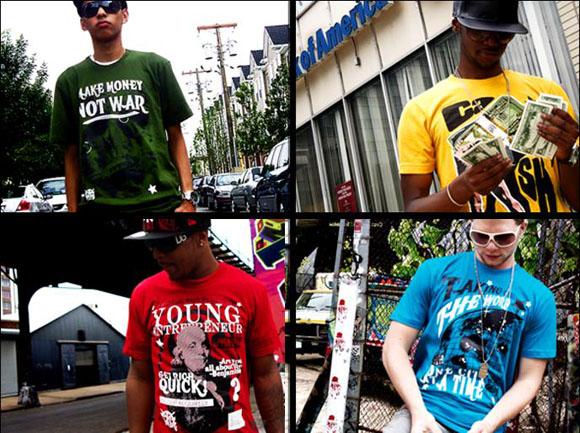 The T-Shirt Gang banner