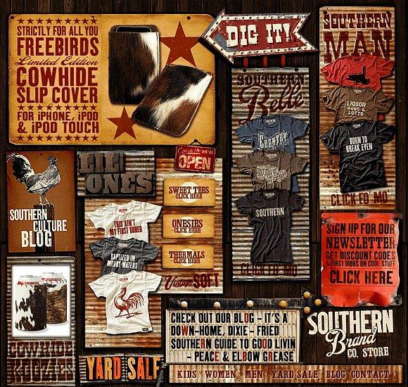 Southern Brand website screenshot