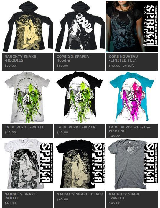 SPRFKR apparel