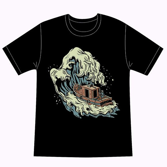 Springleap.com Bi-Weekly Tee Competition Winner - Against the Wave
