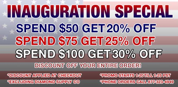 The Fizix Inauguration Sale flyer