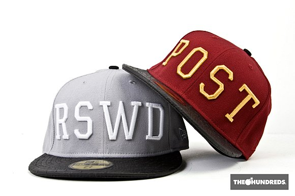 The Hundreds 2x New Era Fitted Hats + Matching Tees