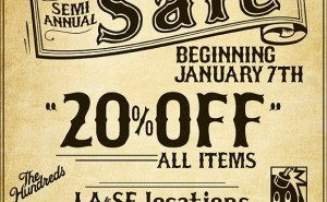 The Hundreds Semiannual Sale