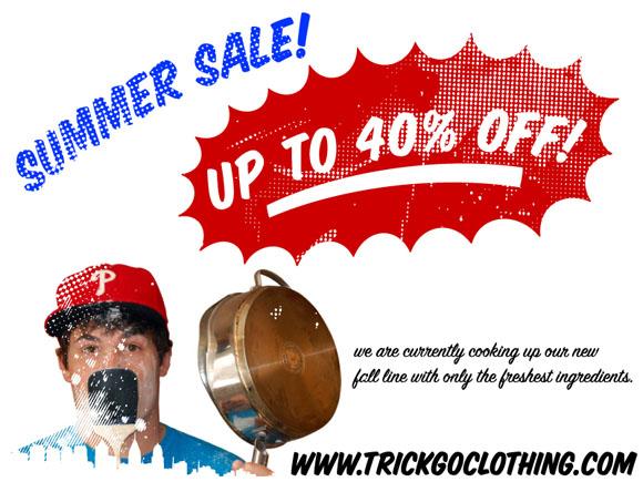 TrickGo Summer Sale flyer