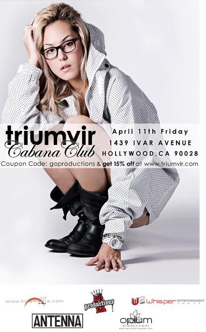Triumvir Cabana Club poster