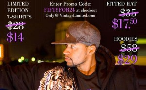 """Vintage Clothing Limited """"Fifty For 24"""" Special"""